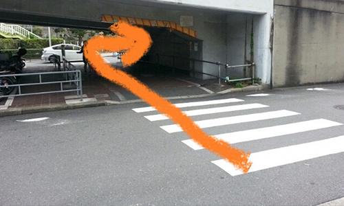 新大阪駅からの道順4