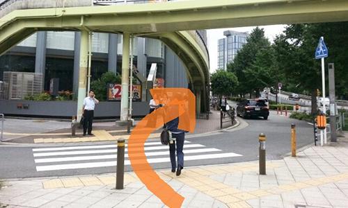 新大阪駅からの道順7
