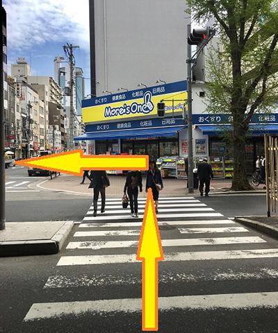 西中島南方駅からの道順2