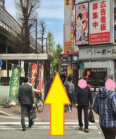 南方駅からの道順2
