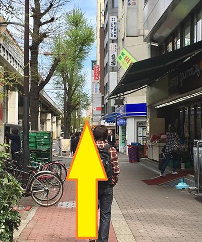 南方駅からの道順3