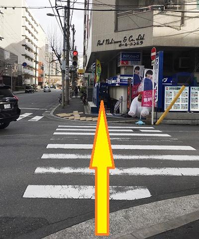 南方駅からの道順9