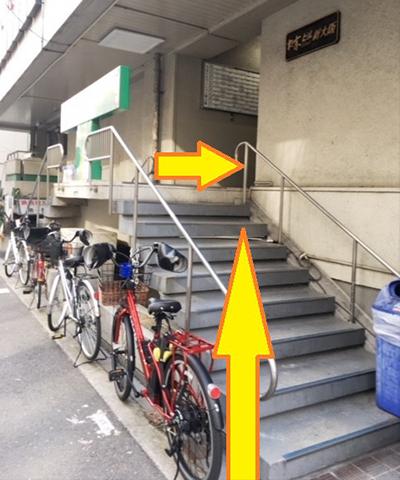 南方駅からの道順10