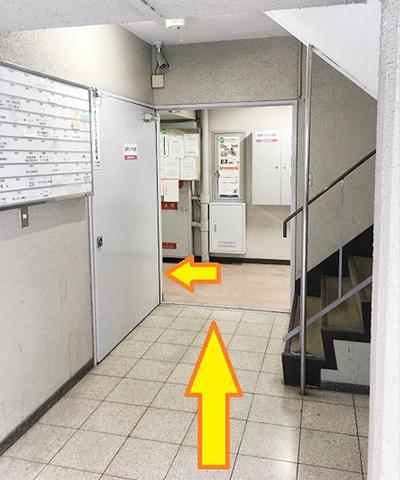南方駅からの道順11